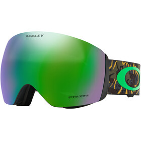 Oakley Flight Deck goggles groen/bont